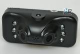 HDS-1119 Видеорегистратор 1080p с углом обзора 180° (2 камеры)