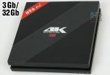 TV Box H96 Pro Plus  (Amlogic S912 Octa-Core / RAM 3Gb / ROM 32Gb / Wi-Fi-Dual 2.4Ghz/5Ghz / 4K / OS Android)