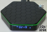 TV Box Sunvell T95Z Plus (Amlogic S912 Octa-Core / RAM 3Gb / ROM 32Gb / Wi-Fi-Dual 2.4Ghz/5Ghz / 4K / OS Android)